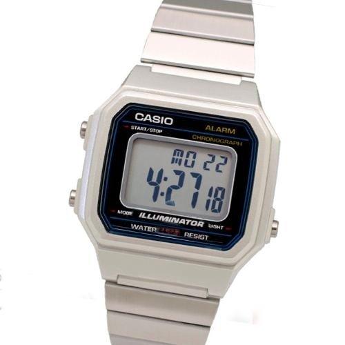 760643848999 Reloj Casio B-650wd 1a Retro Vintage Acero Luz Crono Alarma