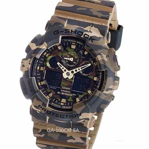 75f0c0401b8c Reloj Casio G-shock Ga-100cm Resiste Golpes Caidas 20 Atm. 0% OFF. 1