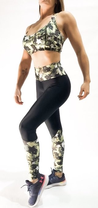 LEGGING CAMUFLADA STAR