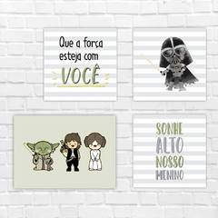 Placas Decorativas - Star Wars #02