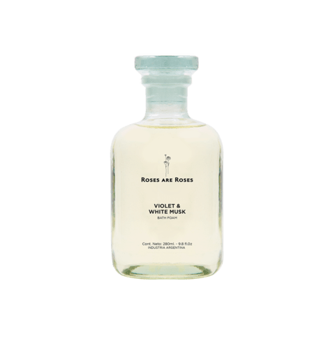 Violet & White Musk · Bath Foam