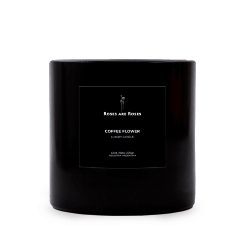 Coffee Flower · Luxury Candle - comprar online