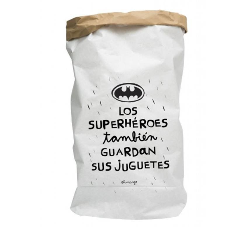 BOLSA DE PAPEL - SUPERHEROES BATMAN