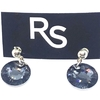 Crystals from swarovski linea sun 11 mm color silver night