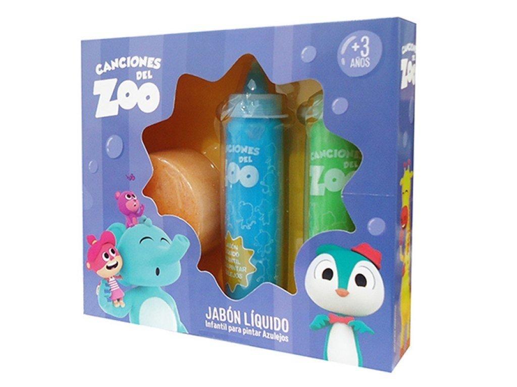 Jabón Liquido Para Pintar Azulejos Canciones Del Zoo