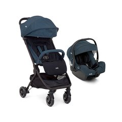 JOIE TRAVEL SYSTEM ULTRALIVIANO PACT AZUL
