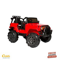 KIDDY JEEP RENEGADE ROJO