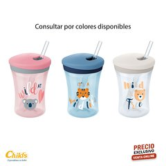 NUK VASO EVOLUTION ACTION CUP VARIOS COLORES N0255391