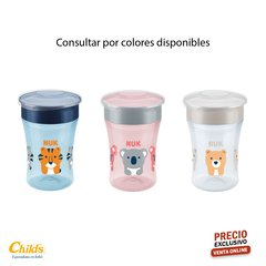 NUK VASO EVOLUTION MAGIC CUP VARIOS COLORES N0255395 X230ML +8M