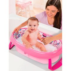 SUMMER BAÑERA PLEGABLE ROSA 09365A - Childs Especialistas en Bebes
