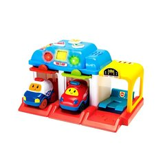 WIN FUN SET GARAGE CON AUTO 1235-34 +18M