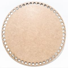 BASE PARA CROCHÊ REDONDA 20CM MDF 3MM