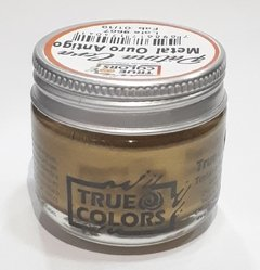 PATINA CERA METAL OURO ANTIGO TRUE COLORS 30G.