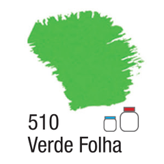 NATURE COLORS 60ML. REF. 510 VERDE FOLHA