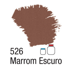 NATURE COLORS 60ML. REF. 526 MARROM ESCURO