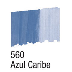 BETUME COLORS ACRILEX 60ML. 560 AZUL CARIBE