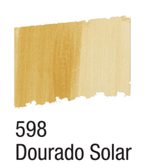 BETUME COLORS ACRILEX 60ML. 598 DOURADO SOLAR