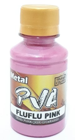 TINTA PVA METAL 100ML. TRUE COLORS - FLUFLU PINK