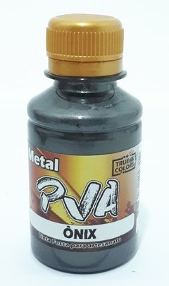 TINTA PVA METAL 100ML. TRUE COLORS - ONIX - comprar online