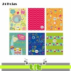CUADERNO TF COLLAGE XXI X 24H