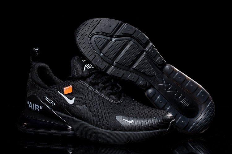 the best attitude 61eb8 3f4b7 Tênis Nike Air Max 270 Black off White
