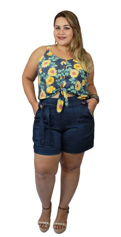 CROPPED PLUS SIZE FLORIDO
