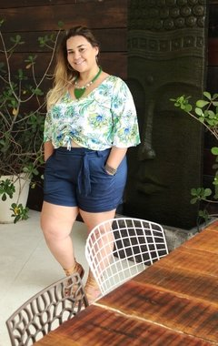 Short Plus Size Alfaiataria