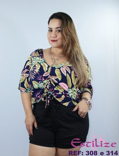 Short Plus Size Clochard