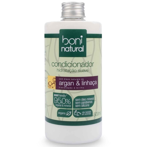 Condicionador Boni Natural Argan e Linhaça 500ml