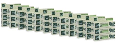KIT 36 Creme Dental Boni Natural Menta e Melaleuca 90g