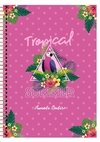 Caderno Colegial Tropical Summer
