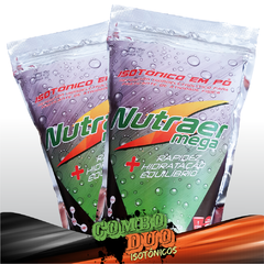 Combo Duo Isotônico Pacote 1 Kg - Nutraer Mega