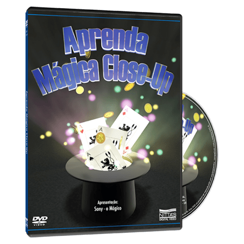 DVD Aprenda Magica Close-up