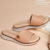 Flatform Soft Leather Rosado - comprar online