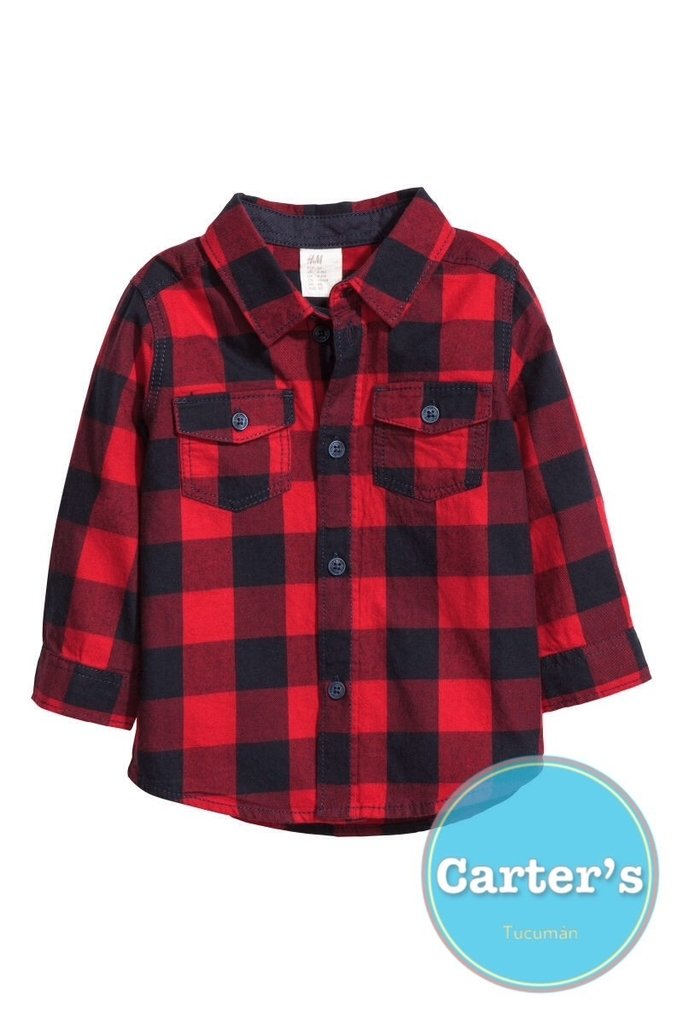e968b6849b509 Camisa leñadora H M - Comprar en Carters Tucuman
