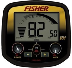 Caixa de Controle do detector de metal GOLD BUG Fisher