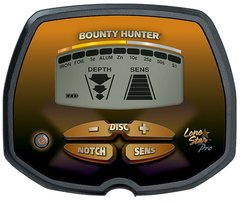 Caixa de Controle do detector de metal Bounty Hunter LONE STAR PRO