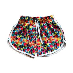 Shorts Infantil - Colors (Feminino)