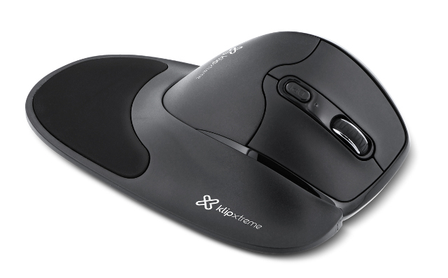 Mouse inalámbrico semi vertical Klip - KMW 750