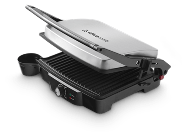 Parrilla Electrica Grill Press Ultracomb 2000w Acero