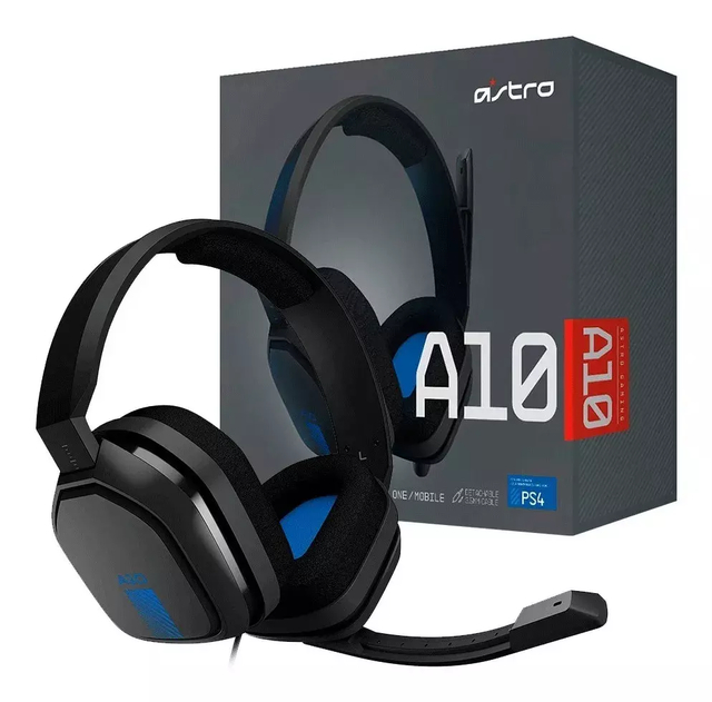 Auriculares Gamer Astro A10 PS4/PC