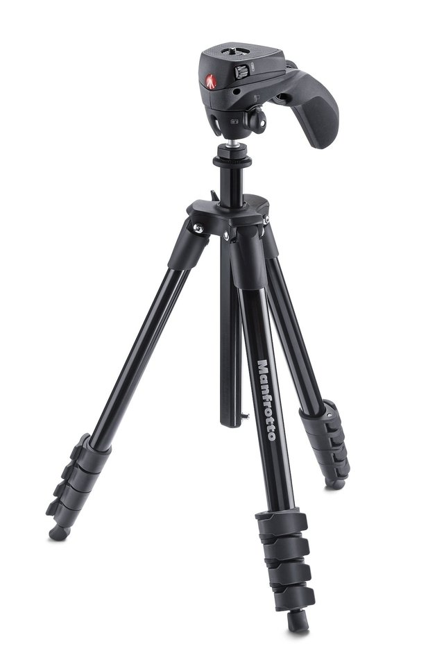 Tripode Manfrotto MKCOMPACTACN-BK Negro