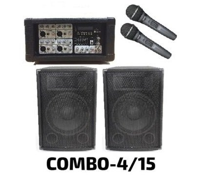 Combo Parlantes 15