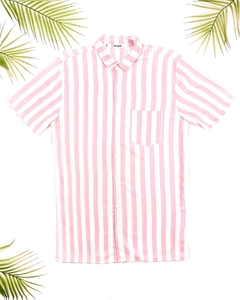 CAMISA LISTRAS ROSA CANDY