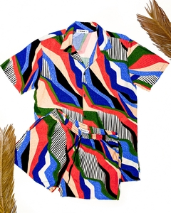 CAMISA ABSTRACT LINES - comprar online