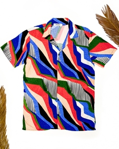 CAMISA ABSTRACT LINES