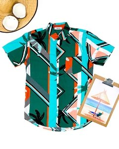 CAMISA LINES TROPICAL