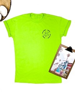 T-SHIRT • NO NAME MOOD • VERDE NEON