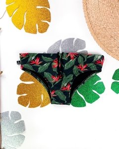 SUNGA SLIP TROPICAL RED