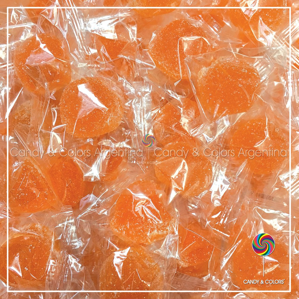 a3ca76b9f Bombones de fruta - naranja - envueltos individuales - por unidad o pack de  20 unidades